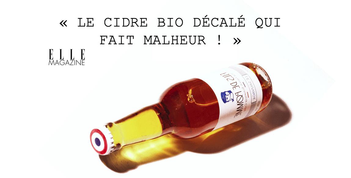 Le Cidre bio français - Le Sauvage - Fils de Pomme